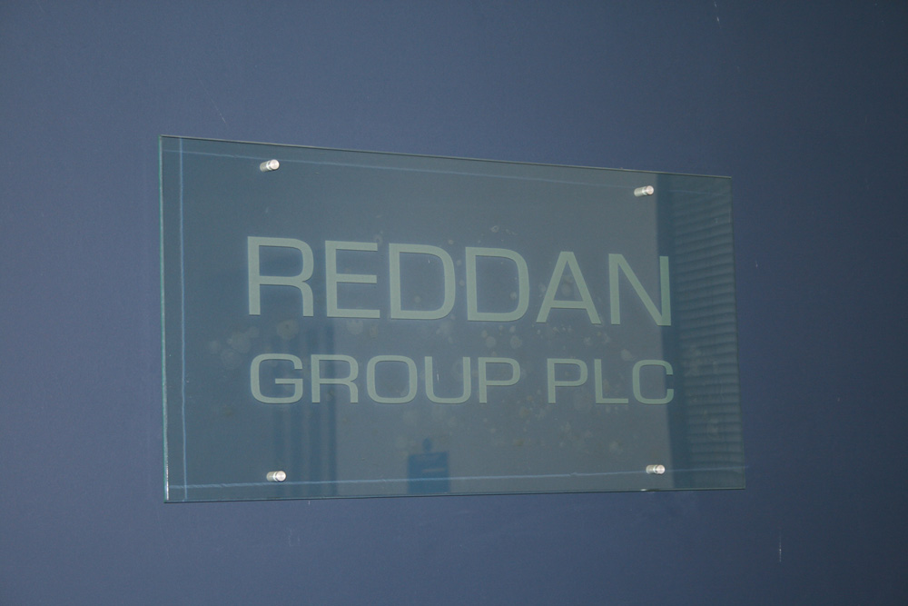 Reddan Office Sign